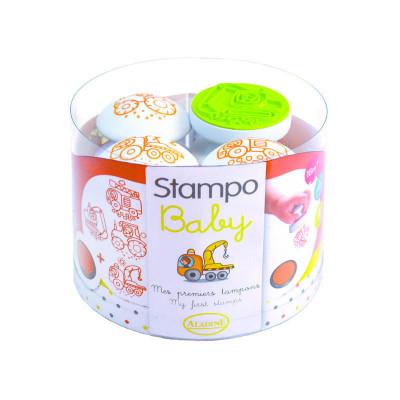 Detské pečiatky StampoBaby - Stroje