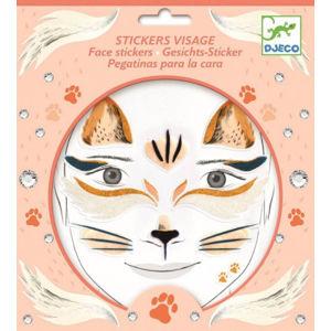 Samolepky na tvár – mačka