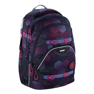 Školský batoh Coocazoo ScaleRale, Purple Illusi, certifikát AGR