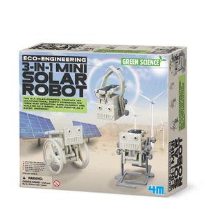Mini solárny robot 3v1