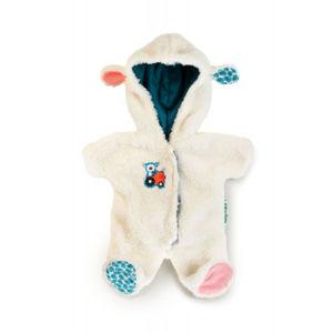 Lilliputiens – zimný overal pre bábiky – ovečka