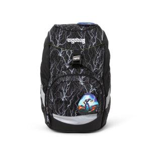Školský batoh Ergobag prime – Black 2020 - reflexní