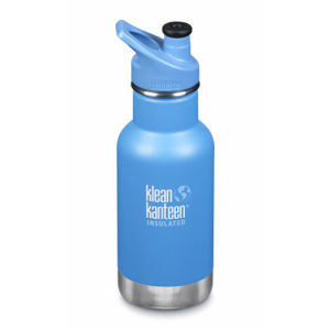 Detská nerezová termofľaša Klean Kanteen Insulated Kid Classic w/Kid Sport Cap 3.0 - pool party matte 355 ml