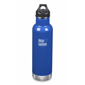 Termoska Klean Kanteen Insulated Classic w/Loop Cap - coastal waters 592 ml