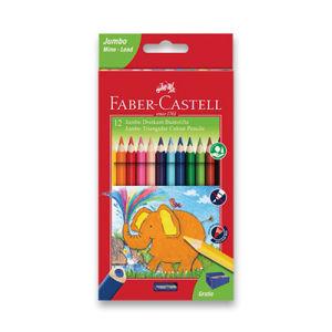 Pastelky Faber-Castell Extra Jumbo - 12 farieb