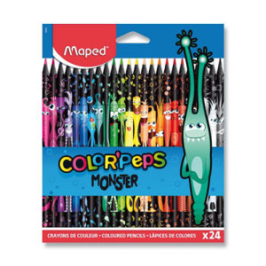 Pastelky Maped Color'Peps Monster - 24 farieb