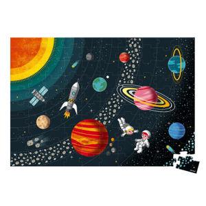 Vzdelávacie puzzle - Vesmír a slnečná sústava - 100 ks