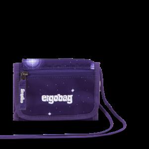 Peňaženka Ergobag - galaxy fialová
