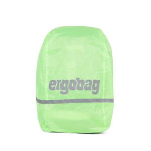 Pršiplášť na batoh Ergobag - zelený