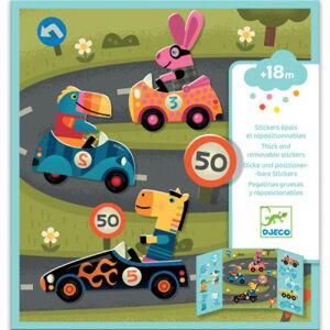 Samolepková súprava - Automobilové preteky