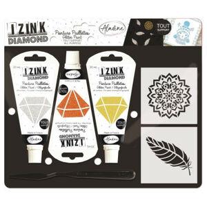 Kreatívna súprava Izink Diamond - perie - 3 ks